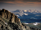 Longs Peak from Summit Lake Area, Mt. Evans Road, Front Range, Denver, Colorado Fotografie-Druck von Witold Skrypczak