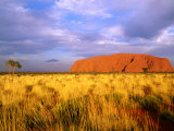 Uluru, Uluru-Kata Tjuta National Park, Northern Territory, Australia Photographic Print by John Banagan