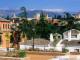 Alhambra from Albaicin, Granada, Andalucia, Spain Photographic Print by John Elk III