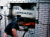 Lombardi's Pizza, Little Italy, New York City, New York Photographic Print by Dan Herrick