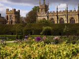 The Landscaped Gardens of Sudeley Castle, Winchcombe, Gloucestershire, England Photographic Print by Glenn Beanland