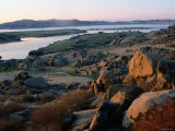 Millerton Lake Landscape, San Joaquin, California Photographic Print by John Elk III