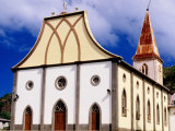Vao Village Church, Vao, Ile des Pins, New Caledonia Photographic Print by Peter Hendrie