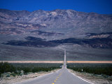 Park Road, Death Valley National Park, California Photographic Print by John Elk III