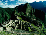 The Ancient Inca City of Machu Picchu, Machu Picchu, Cuzco, Peru Photographic Print by Richard I'Anson
