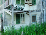Ramshackle House in Belize Citybelize City, Belize Lmina fotogrfica por Anthony Plummer