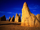 Eroded Rock Formations, Pinnacles Desert, Western Australia Photographic Print by John Banagan