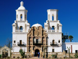 Mission San Xavier del Bac, Tucson, Arizona Photographic Print by Witold Skrypczak