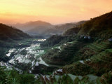 Rice Terraces, Ifugao Province, Luzon, Southern Tagalog, Philippines Photographic Print by John Elk III