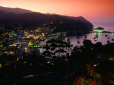 Avalon, Santa Catalina Island, California Photographic Print by John Elk III
