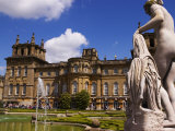 Blenheim Palace, Now a Unesco World Heritage Site, Blenheim Palace, Oxfordshire, England Photographic Print by Glenn Beanland