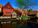 Den Gamle by Old Town Buildings, Arhus, Denmark Photographic Print by John Elk III