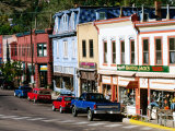 Street Scene, Manitou Springs, Colorado Photographic Print by Holger Leue