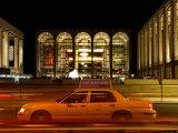 Lincoln Center at Night, Upper West Side, New York City, New York Fotografisk tryk af Dan Herrick
