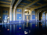 Hearst Castle, Casa Grande, Roman Pool Photographic Print by John Elk III