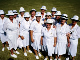 Pottsville Womens Bowls Club, Near Tweed Heads, Tweed Heads, New South Wales, Australia Photographic Print by Holger Leue