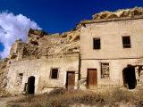 Tufa House, Cavusin, Cappadocia, Nevsehir, Turkey Fotoprint van John Elk III
