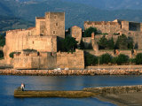 Chateau Royal, 13th Century Castle, Collioure, Languedoc-Roussillon, France Photographic Print by John Elk III