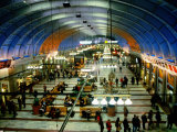 Interior of Stockholm Central Train Station, Stockholm, Sweden Photographic Print by Martin Lladó