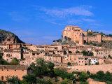 Alquezar Town, Alquezar, Aragon, Spain Photographic Print by John Banagan
