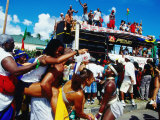 Grand Kadooment Day Crop-Over Festival, Bridgetown Photographic Print by Holger Leue