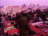 Ho Chi Minh City Skyline at Dusk, Ho Chi Minh City,  Vietnam Photographic Print by Stu Smucker