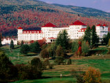 Crawford Notch Bretton Woods, Mt. Washington Resort, New Hampshire Photographic Print by John Elk III