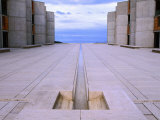 Detail of Louis Kahn's Salk Institute, La Jolla, California, Giclee Print