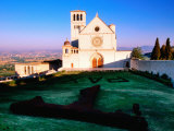 Basilica de San Francisco, Assisi, Umbria, Italy Photographic Print by John Elk III
