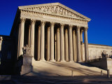 US Supreme Court, Washington D.C. Photographic Print by Dan Herrick