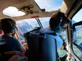 Heli Usa Scenic Flight, Kauai, Hawaii Photographic Print by Holger Leue