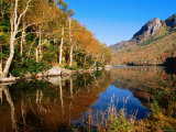 Franconia Notch Profile Lake, New Hampshire Photographic Print by John Elk III