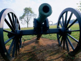 Canon at Wilson's Creek National Battlefield, the Ozarks, Near Republic, Republic, Missouri Photographic Print by John Elk III