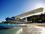 Float Plane on Beach, Hayman Island Resort, Whitsundays, Hayman Island, Queensland, Australia Photographic Print by Holger Leue