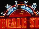 Neon Sign on Beale Street, Memphis, Tennessee Photographic Print by Richard Cummins