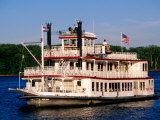 Mark Twain Riverboat, Hannibal, Missouri Photographic Print by John Elk III