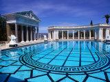 Hearst Castle Outdoor Pool, San Simeon, California Fotografisk tryk af John Elk III