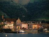Sunrise on Port, Collioure, Languedoc-Roussillon, France Photographic Print by John Elk III