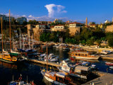 Roman Harbour in Kaleici Old Town, Antalya, Turkey Photographic Print by John Elk III