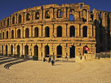 South Side of Roman Colosseum, El-Jem, Mahdia, Tunisia Photographic Print by Bethune Carmichael