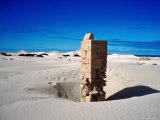 Dunes and Old Telegraph Station, Eucla National Park, Western Australia Photographic Print by Holger Leue