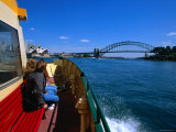 Manly Ferry Returning to the City, Sydney, New South Wales, Australia Photographic Print by Greg Elms