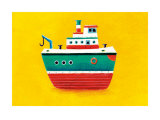 Tug Boat Prints by Simon Hart