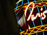 Paris Hotel and Casino in las Vegas, Las Vegas, Nevada Photographic Print by Ray Laskowitz