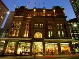 Queen Victoria Building at Night, Sydney, New South Wales, Australia Photographic Print by Greg Elms