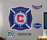 Chicago Fire -Fathead Decalque em parede