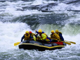 Rafting the Otra River, Just North of Evje, Setesdalen, Aust-Agder, Norway Photographic Print by Anders Blomqvist