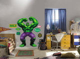 The Incredible Hulk -Fathead Veggoverføringsbilde