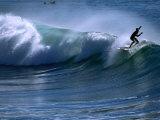 Californian Surfer at Encinitas, California Reproduction photographique par Christer Fredriksson
