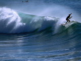 Californian Surfer at Encinitas, California Photographic Print by Christer Fredriksson
